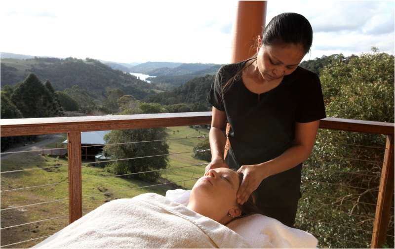 Massage on your private deck or room