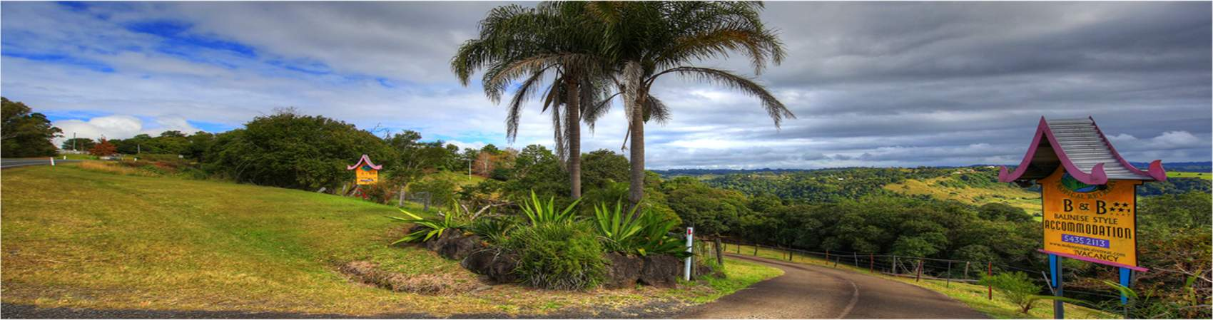 Maleny Tropical Retreat Entrance